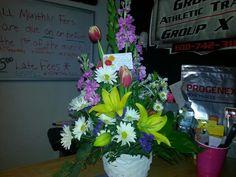 Flowers from Matt & Sarah ♥