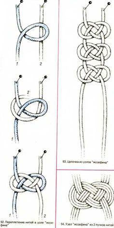 Josephine Knot macramé