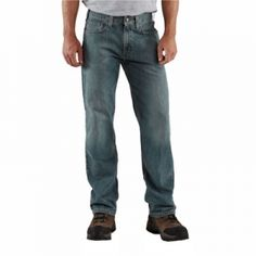 Find the Carhartt Men's Relaxed Straight Leg Jeans - Light Weathered by Carhartt at Mills Fleet Farm.  Mills has low prices and great selection on all Jeans.