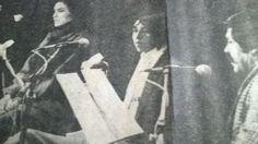 Lectura de los poemas de mi estimado Margarito Cuéllar, en uno de los tantos recitales que participamos. Nos acompaña Yesenia López, excelente actriz y mejor compañera.