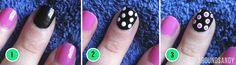 NOTD: dots over dots | Around Sandy - Beauty Blog