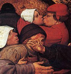 The Peasant Dance Detail Pieter Bruegel de Oude