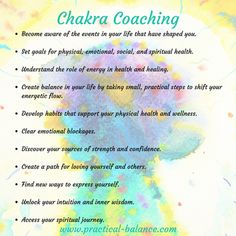 Change your Life with Chakra Coaching