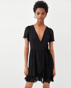 Image 2 of CROSSED DRESS from Zara
