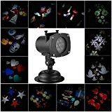 Projector LightsKINGCOO Christmas Projector Lamp 12 Replaceable Lens outdoor Projector Night Lamp Auto Moving... christmas deals week