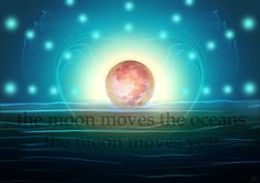 July 4 #Moon day … the moon moves the oceans, the moon moves you …