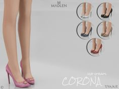 Mesh modifying: Not allowed. Found in TSR Category 'Sims 4 Shoes Female' Source: Madlen Corona Shoes (W/O straps) The Sims 4 Pc, Sims 4 Mm Cc, Sims 4 Mods, Sims 4 Cc Kids Clothing, Sims 4 Cc Shoes, The Sims 4 Download, Sims 4 Update, Sims 4 Cc Finds, Sims Resource