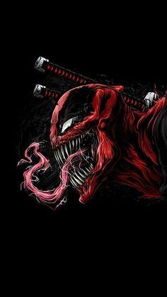 34 marvel, Deadpool, carnege, enemy combination, - Home Deadpool Hd Wallpaper, Avengers Wallpaper, Marvel Venom, Marvel Art, Marvel Heroes, Marvel Comics, Epic Heroes, Marvel Villains, Deadpool En Hd