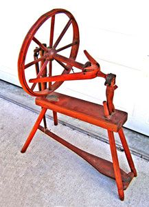 Hemp spinning wheel
