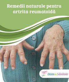 Remedii naturale pentru artrita reumatoidă.  Deși este întotdeauna recomandat să te consulți cu un specialist pentru a obține un tratament adecvat, aceste remedii naturale sunt de mare ajutor în combaterea simptomelor produse de artrita reumatoidă. Care About You, Good To Know, Health Fitness, Shake, Fashion, Stuff Stuff, The Body, Moda, La Mode