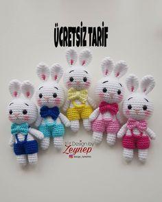 Amigurumi Doll, Amigurumi Patterns, Crochet Patterns, Crochet Baby Toys, Crochet Dolls, O Design, Cute Toys, Free Pattern, Hello Kitty