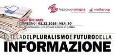 MEDIA E COMUNICAZIONE, convegno a Forlì organizzato da Mediacoop e Legacoop Romagna