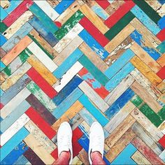 I would love this! For Amazing Flooring Inspiration Follow your Feet - The Chromologist