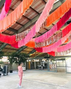 (Literal) blood, (literal) sweat, and (literal) tears went into this 360 ft install! Special thanks to my whole team and the volunteers… Decoration Disco, A Little Party, Mehndi Decor, Grad Parties, Event Styling, Event Decor, Party Planning, Party Time, Wedding Decorations