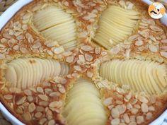 Tarte amandine aux poires, ou la célèbre bourdaloue, Recette Ptitchef Portuguese Recipes, Nutella, Sweets, Cheese, Baking, Food, Cupcakes, Dessert, Recipes