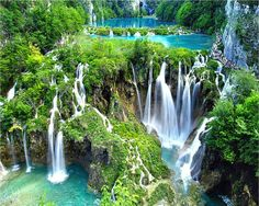 Plitvice Lakes National Park - Beautiful Places In The World That Actually Exist (10 Photos) -- Click on the image for more.....