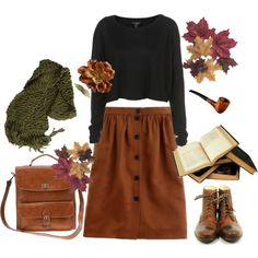 """If I didn't tell her, I could leave today."" by melissalackey on Polyvore"