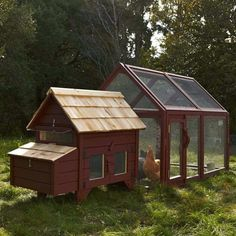 Briar Extended Chicken Coop...One Day!