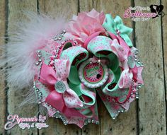 Naturally Sweet OTT Bow Just Sayin' An Auction Style Event Opens 3/3/15 at 5 PM CST Closes at 3/5/15 at 9 PM CST Purchase Here: www.facebook.com/dollhousedesigngroup