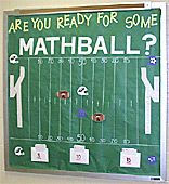 Students will pick the amount of yardage they want to try to go for. Much like Jeopardy, the higher the yardage, the tougher the question. The choices are 5 yards, 10 yards, or 15 yards. They then answer the question. If they get it correct, that team's ball is moved that amount of yards toward their goal. For example if Team A answers a 10 yard question correctly, their ball can be moved 10 yards closer to the goal. The object of the game is to earn the most touchdowns.