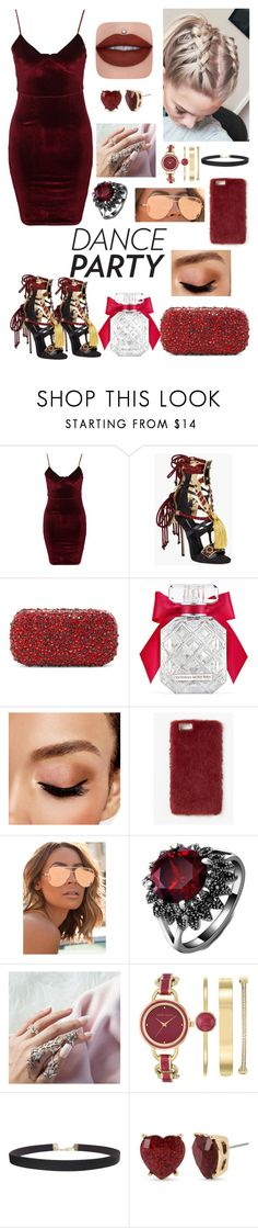 """Lit."" by saraibadd ❤ liked on Polyvore featuring Glamorous, Dsquared2, Alice + Olivia, Victoria's Secret, Avon, Missguided, Quay, Anne Klein, Humble Chic and Betsey Johnson"