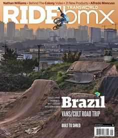September 2011 Ride BMX cover.