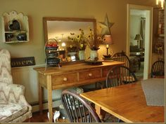 Beautiful Country Dining Room