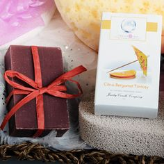 Citrus Bergamot Fantasy Jewelry Soaps | Jewelry Candles - Jewelry In Candles  This bar of Jewelry Soap will tantalize your senseswith the rich aroma of minty bergamot with strong accents of sweet blood orange and tangy blackberry.