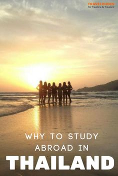 10 Reasons Why You Should Study Abroad in Thailand - South East Asia is an emerging study abroad destination, and for good reason Thailand Travel, Asia Travel, Japan Travel, Bangkok Thailand, Work Abroad, Study Abroad, Travel Around The World, Around The Worlds, Travel News