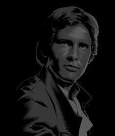 Star Wars Images, Star Wars Wallpaper, Black Series, Star Wars Art, Trek, Science Fiction, Stars, Illustration, Han Solo
