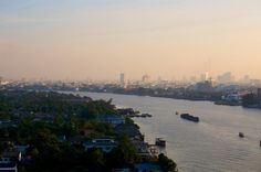 Fresh morning view from our bedroom. My Resort @ River Condo by Chaopraya river, Bangkok, Thailand. www.myresort.co.th +6682 461 2950