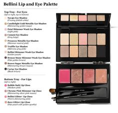 Bellini Lip and Eye Palette | Bobbi Brown...gorgeous glosses and eyeshadows, what's not to love?!