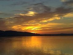 Beautiful sunset taken over the Montrose Basin, in Montrose Scotland Ettinger #MyColourOfSummer
