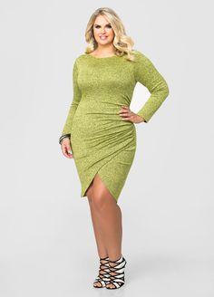 Tulip Hem Sweater Dress Tulip Hem Sweater Dress