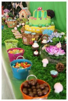 Candy bar - Naturaleza y Hadas 6