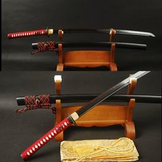 Chaveevan Electroplated Clay Tempered Steel Katana Samurai Sword