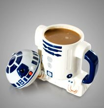 Star Wars R2-D2 Coffee Mug With Lid For The Caffeinated Geek.
