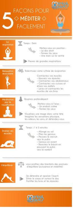 Au fond, l'on pratique la méditation pour se détendre, déstresser, ressentir un bien-être et se libérer de tout ce qui nous oppresse. Il est alors essentiel de savoir méditer pour parvenir au résultat escompté. Comment bien méditer, facilement et sans effort ? Voici les cinq techniques essentielles que vous devez vous approprier. La respiration Savoir respirer