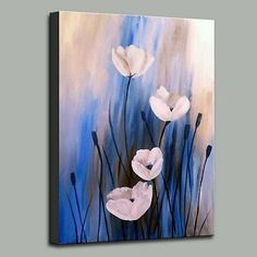 flower art painting acrylic * flower art + flower art drawing + flower art painting + flower art projects for kids + flower art abstract + flower art for kids + flower art design + flower art painting acrylic Acrylic Painting Flowers, Acrylic Painting For Beginners, Easy Canvas Painting, Simple Acrylic Paintings, Diy Canvas Art, Beginner Painting, Acrylic Canvas, Simple Paintings For Beginners, Simple Oil Painting