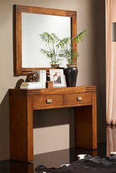 Consolas de madera modelo avedum decoracion beltran tu - Consolas decoracion hogar ...