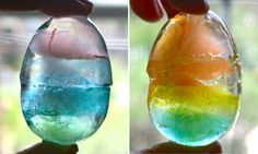 Easter Egg ICE gems...great for an Easter Drink!!!