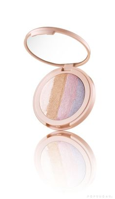 Tarte Spellbound Glow Rainbow Highlighter | http://www.hercampus.com/beauty/tartes-newest-products-will-make-you-cry-unicorn-tears