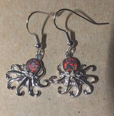 fire-opal-earrings-gemstone-silver-jewelry-chic-Octopus-drop-dangle-design-A0S