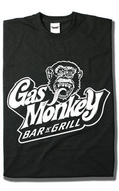 Camiseta Gas Monkey Bar N Grill