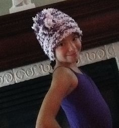 Benna modeling hat that g-ma made