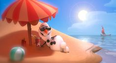 olaf the snowman | Olaf the Snowman From Disney's 'Frozen' Sings 'In Summer'