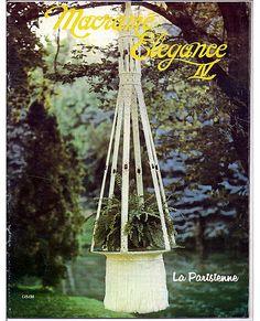 Macrame Elegance IV  Macrame Pattern Book by grammysyarngarden