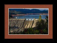 Shasta Dam Framed Print featuring the photograph Shasta Dam by Marnie Patchett