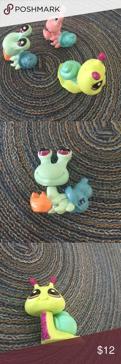 Littlest Pet Shop - snails Littlest Pet Shop- 3 snails  $5.00 each or all for $12.00 Littlest Pet Shop Accessories