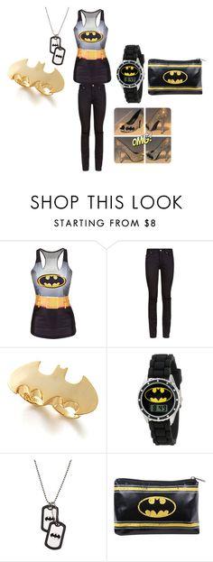 batgirl by alexalivar on Polyvore featuring Yves Saint Laurent, Noir, women's clothing, women's fashion, women, female, woman, misses and juniors